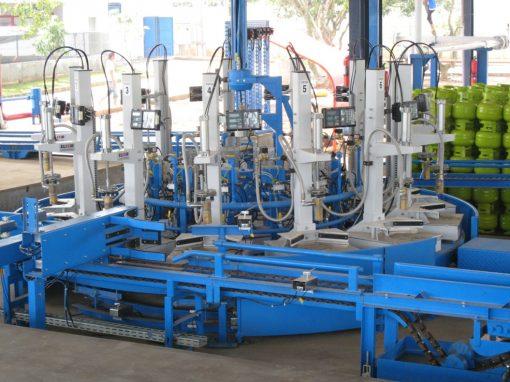 ELIXIR EK 670 C2 Electronic Filling Machine for 3-kg cylinders for Carousel